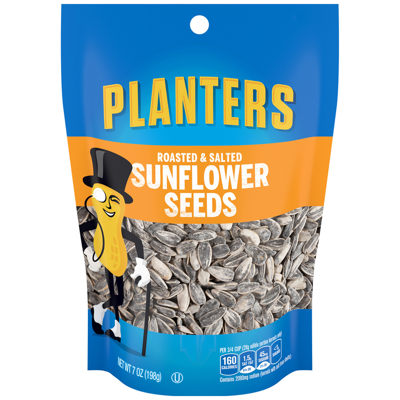 PLANTERS Roasted & Salted Sunflower Seeds 7 oz Bag