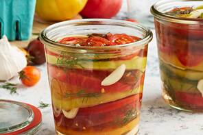 Quick Pickled Tomatoes