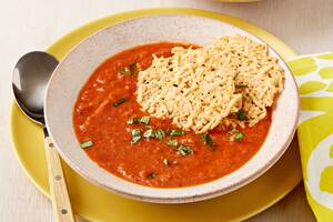 Roasted Tomato-Basil Soup