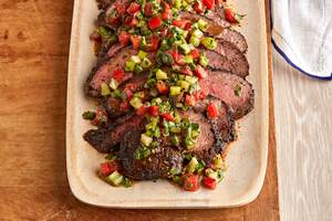 Grilled Tri-Tip Roast with Santa Maria Salsa