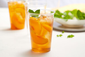 Mint-Peach Tea