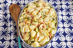 Electric Pressure Cooker Hawaiian Potato Salad