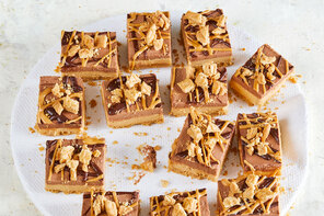 No-Bake Peanut Butter-Chocolate Bars