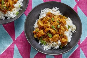 Bhuna Chicken with Basmati Rice