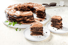 Chocolate Mint Icebox Cake