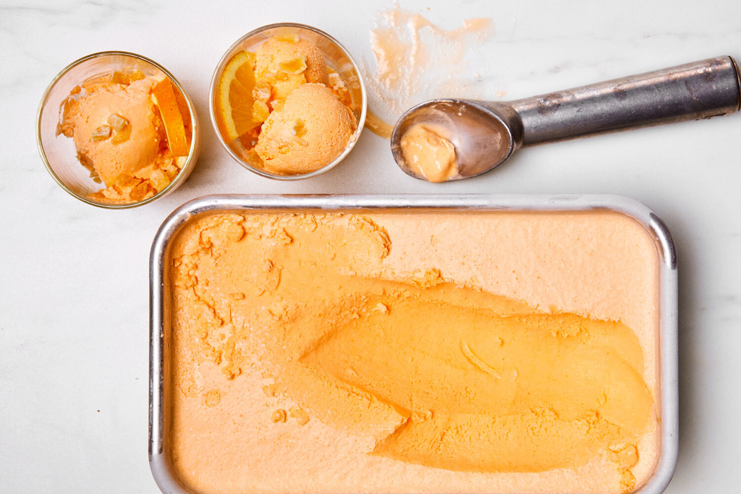 Orange-Ginger Sorbet