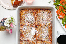 'Carrot Cake-Stuffed' French Toast Bake