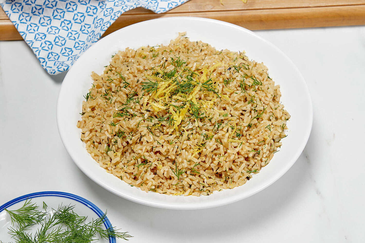 Herbed Brown Rice