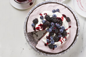 Fluffy Berry Pie