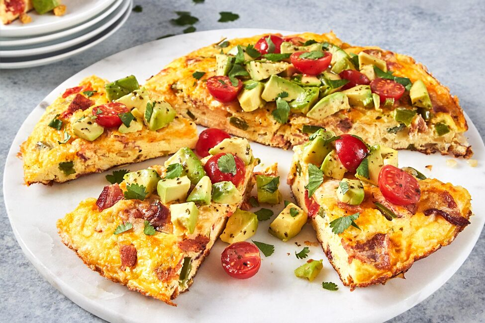 Summer Vegetable Frittata With Bacon My Food And Family