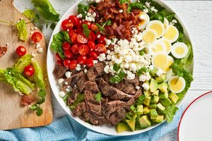 Steak Cobb Salad with Lime Vinaigrette