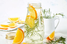 Orange-Rosemary Vinegar