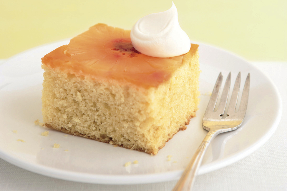 Upside-Down Sunshine Cake