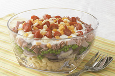 Layered Pasta Salad Recipe