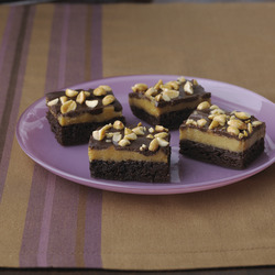 Triple-Layer Peanut Butter Brownie Recipe