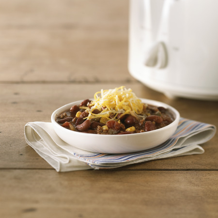 Slow-Cooker Chili Dinner Menu