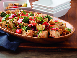 Grilled Tuscan Bread Salad
