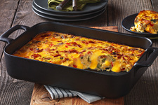 VELVEETA® Cheesy Hash Brown Bake