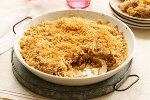 Caramelized Fennel Gratin