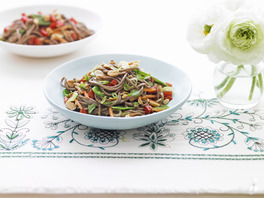 Fast Asian Soba Noodle Recipe