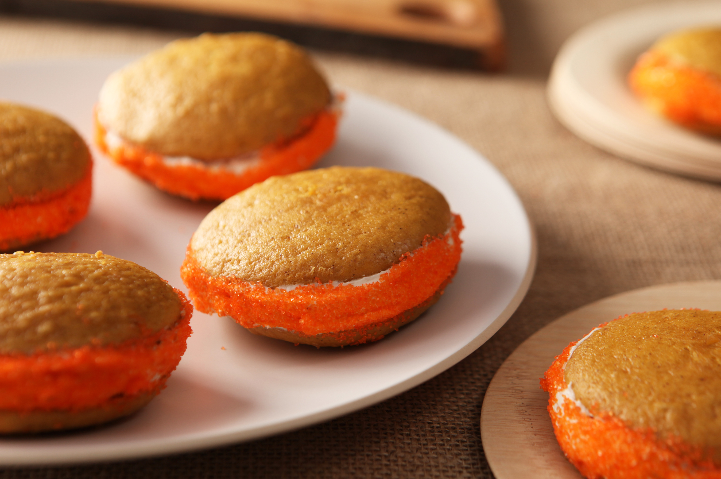 Pumpkin-Spiced Whoopie Pies