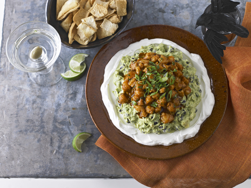 Monster Mash Guacamole & Spicy Shrimp Dip