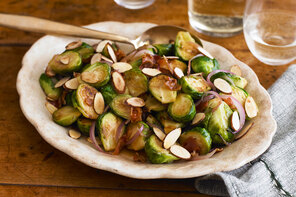 Cider-Glazed Brussels Sprouts