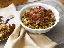 Bacon, Pear & Walnut Stuffing
