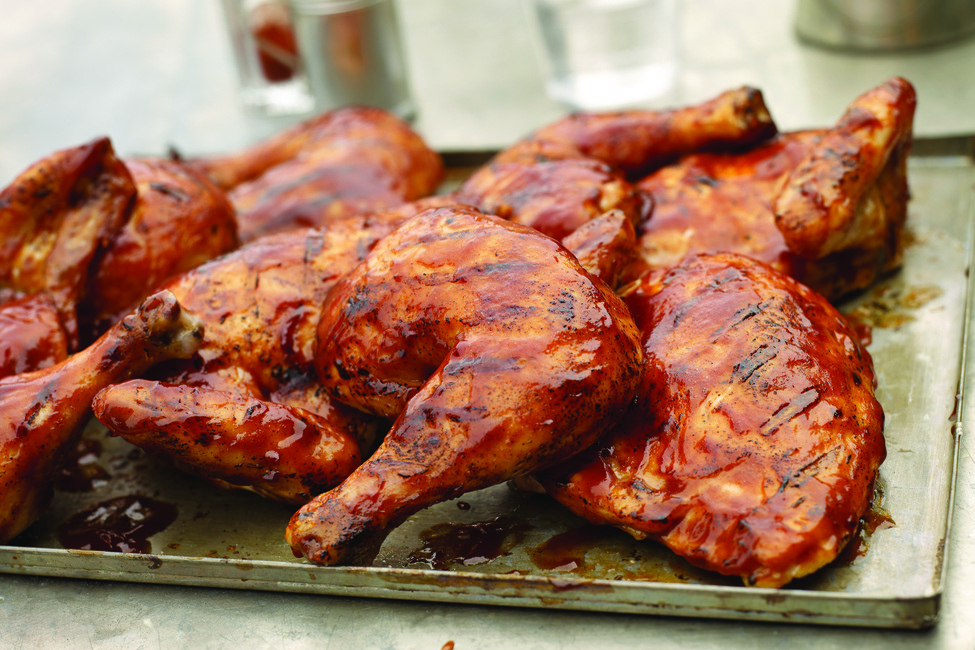 Quick BBQ-Beer Can Chicken