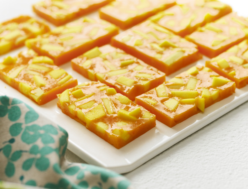 Orange-Mango Bars