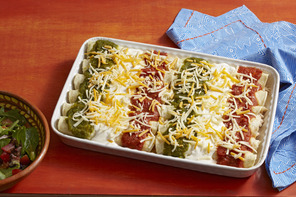 Tri-Color Enchiladas