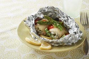Grilled-Fish Foil Packets