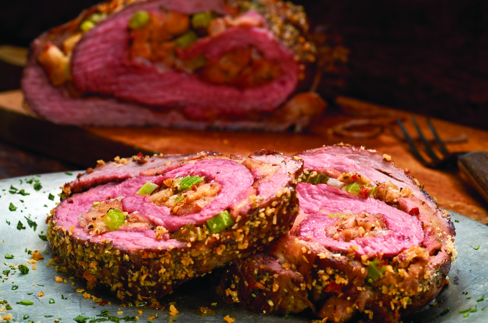 Stuffed Tuscan Flank Steak