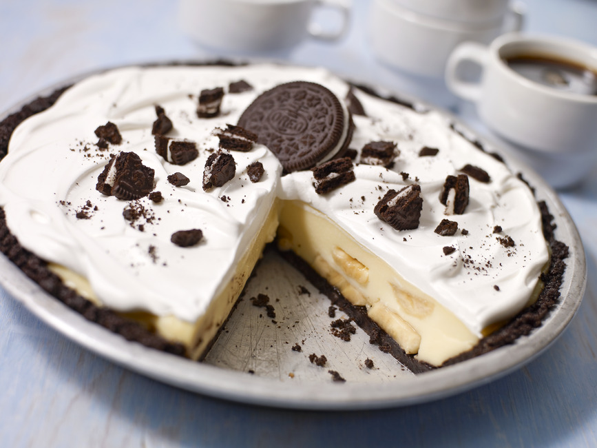 OREO Banana Cream Pie