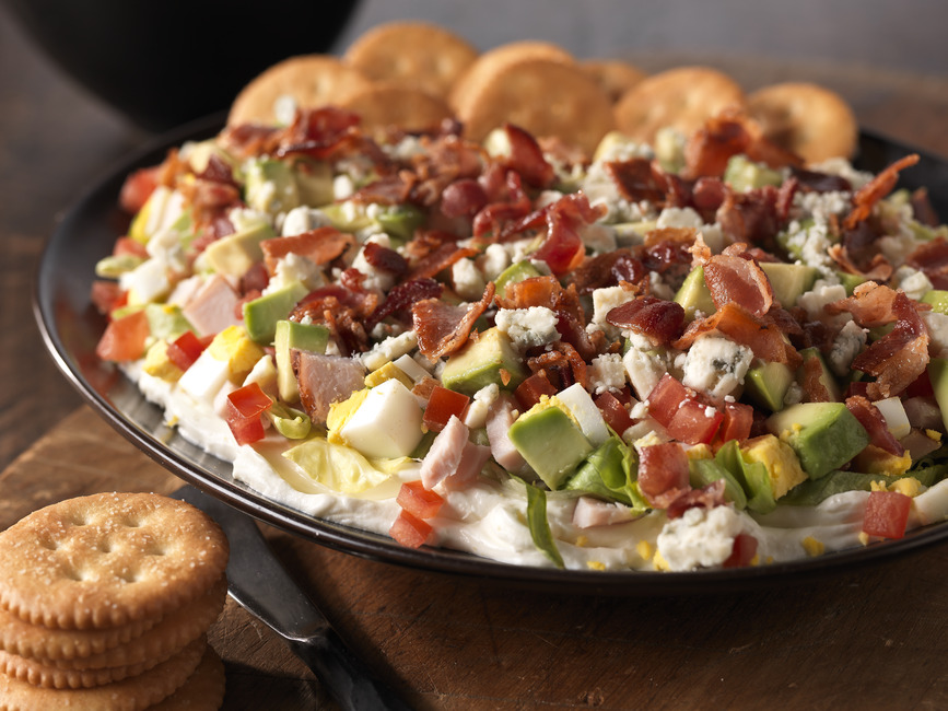 Cobb Salad Dip Recipe