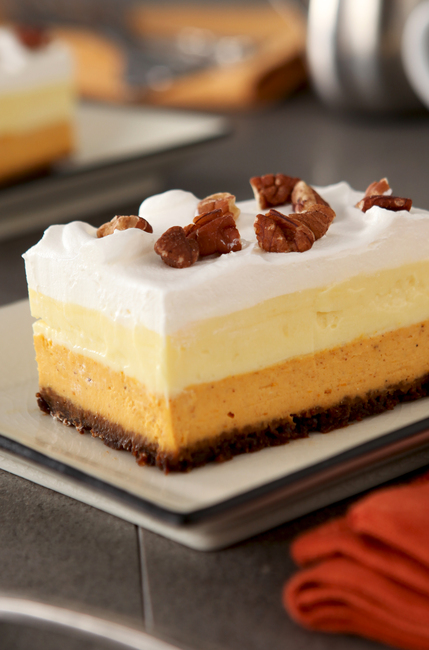 Layered Pumpkin Dessert Bars