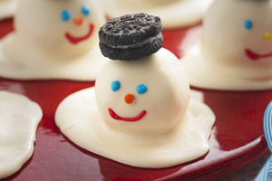 Melting Snowmen Cookie Balls