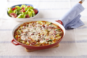 Skillet Vegetable 'Lasagna'