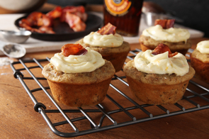 Maple-Bacon Cupcakes