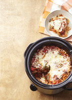 Smart-Choice Slow-Cooker Vegetable Lasagna