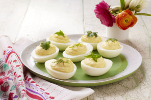 Quick and Easy Deviled Eggs