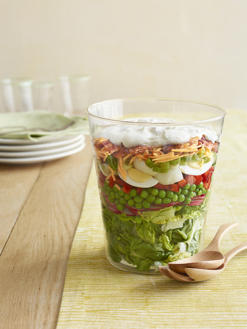 Blue Ribbon Layered Salad