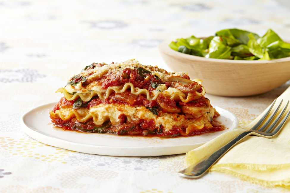No Bake Garden Fresh Lasagna