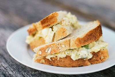 Chicken-Egg Salad