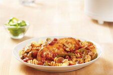 Simple Slow-Cooker Chicken Cacciatore Recipe
