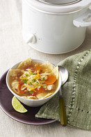 Slow-Cooker Chicken Tortilla Soup Recipe