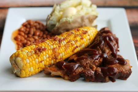Slow-Cooker Ribs Dinner Menu