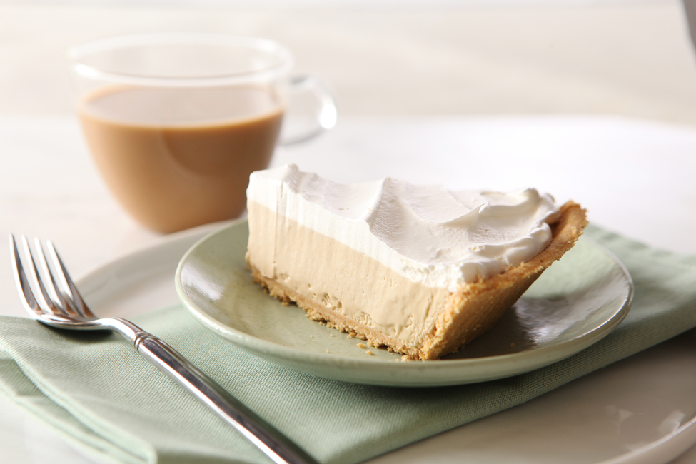 Fluffy Cappuccino Pie