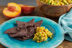 Peachy Avocado Salsa