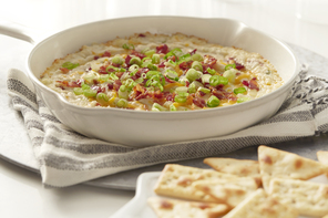 Hot Cheesy Bacon Dip
